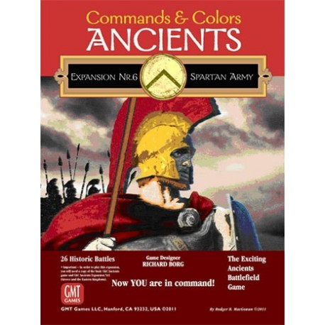 Command & Colors Ancients Ext. 6 The Spartan Army