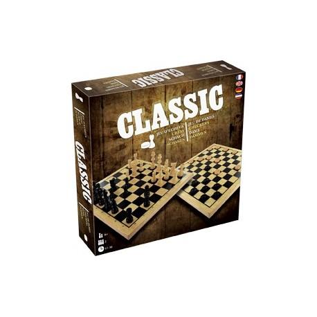 classic : jeu d'échecs et de dames