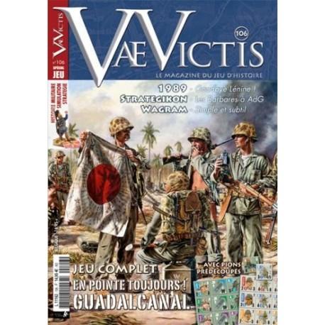 Vae Victis n°106 - édition jeu - En pointe Toujours : Guadalcanal