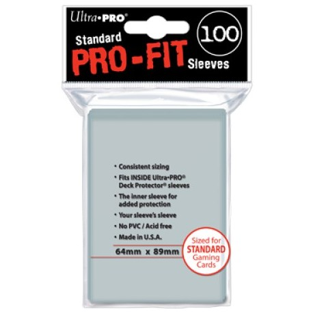 Protège-carte - Standard 89x64mm - PRO-FIT (x100)