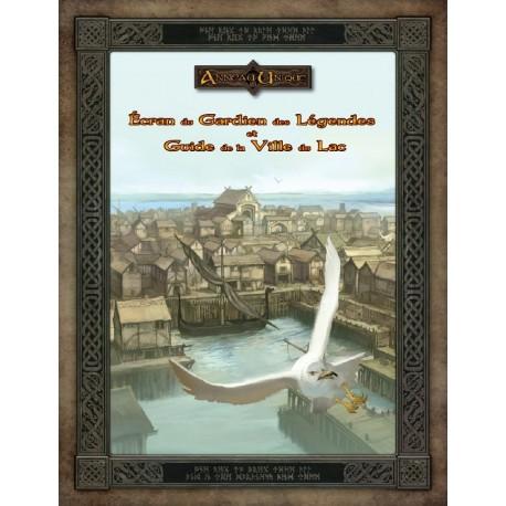 Ecran du Gardien des Légendes et Guide de la Ville du lac