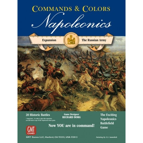 Command & Colors Napoleonics : Russian Army Expansion