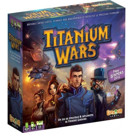 Titanium Wars + carte promo Bloody Jane
