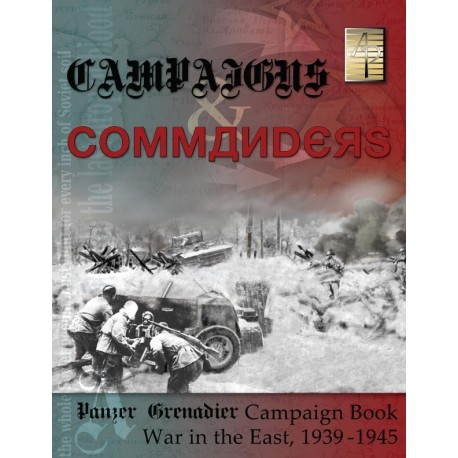 Panzer Grenadier: Campaigns and Commanders Vol. 1: War in the East