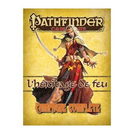 Campagne Pathfinder l'héritage du feu version collector