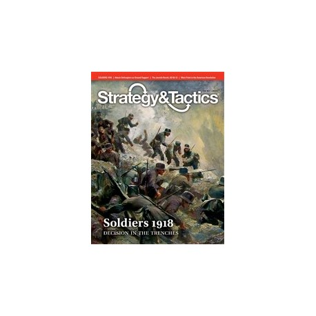 Strategy & Tactics 280 : Soldiers 1918 : Decision in the Trenches