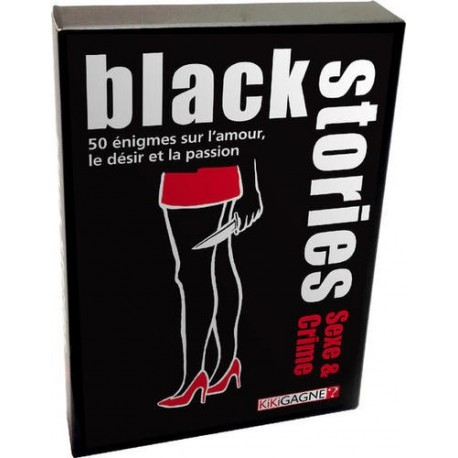 Black Stories Edition Sexe et Crime