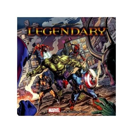 Legendary : A Marvel Deck Building Game