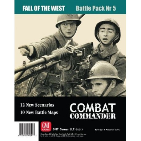 Combat Commander Fall of the West - Battle Pack 5