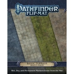 Pathfinder Flip Mat: Basic Terrain Multi-Pack