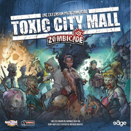 Zombicide Toxic City Mall French edition
