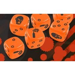 Zombicide set de dés oranges
