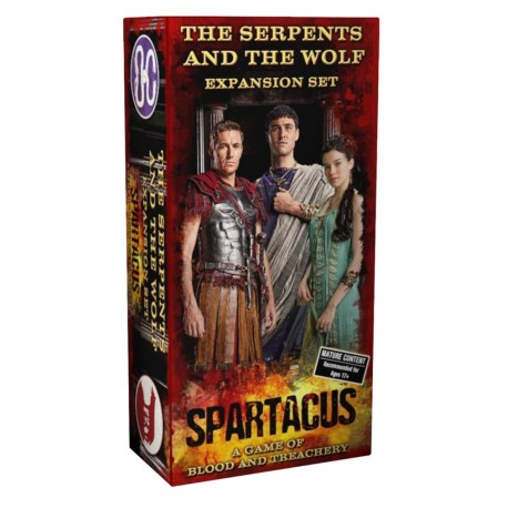 Spartacus : The Serpents and the Wolf