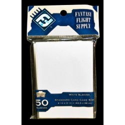 protège-cartes standard blanc FFG 63.5mm x 88mm