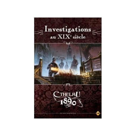 Cthulhu 1890 - Investigations au XIXe siècle