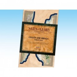 Sails of Glory - Coasts and Shoals : Terrain Pack