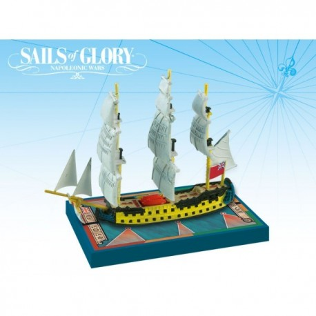 Sails of Glory - HMS Bellona 1760