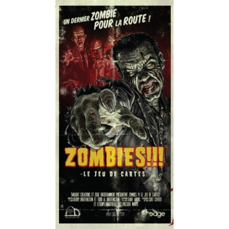 Zombies !!! - Le Jeu de Cartes