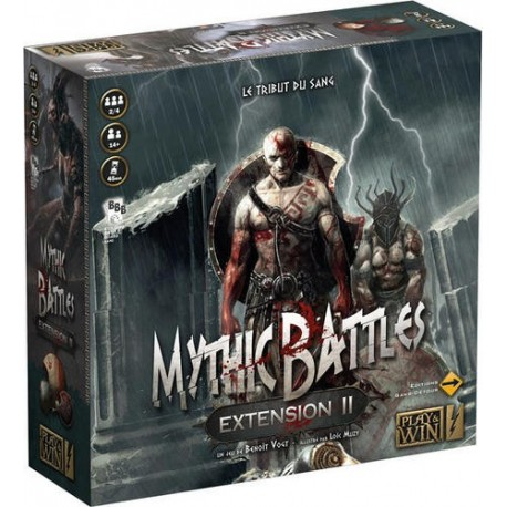 Mythic Battles Extension II : Le Tribut du Sang