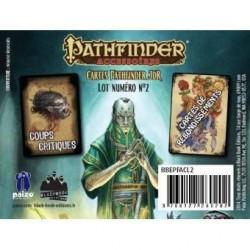 Pathfinder cartes JDR : coups critiques et rebondissements