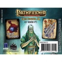 Pathfinder cartes JDR : echecs critiques et flashback