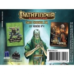 Pathfinder cartes JDR : Tourment et Poursuite