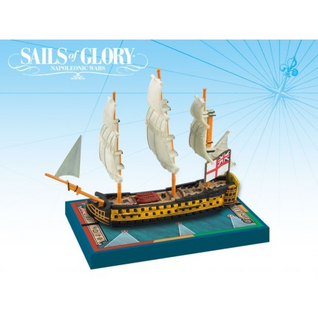Sails of Glory - HMS Queen Charlotte 1790
