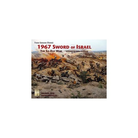 Panzer Grenadier : 1967 Sword of Israel