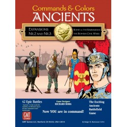 Command and Colors Ancients extensions 2 et 3