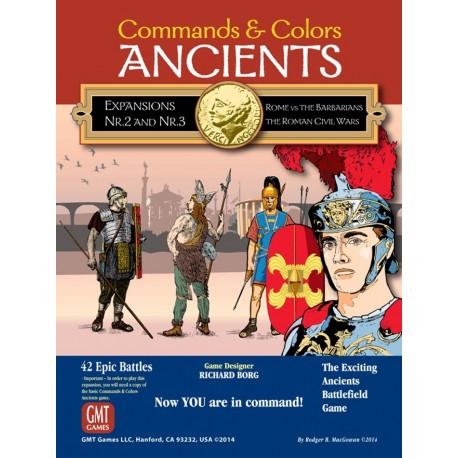 C & C: Ancients Exp. Combo Pack 2 & 3 - Reprint Editions