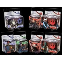 Star Wars Imperial Assault : Pack de 7 extensions