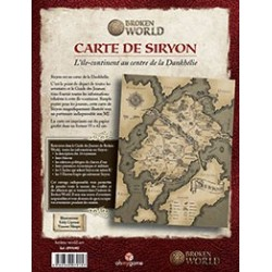 Broken World - Carte de Siryon