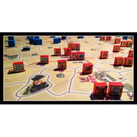 Pack Waterloo 200 + mounted map
