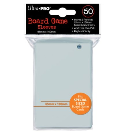 Ultra Pro Board Game Sleeves 65x100mm (x50)