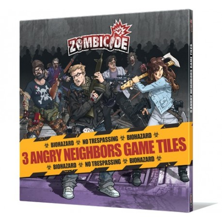 Zombicide Angry Neighbors Tile Pack
