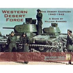 Western Desert Force - boite legerement abimée