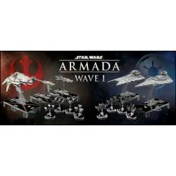lot des 7 extensions Star Wars Armada vague 1