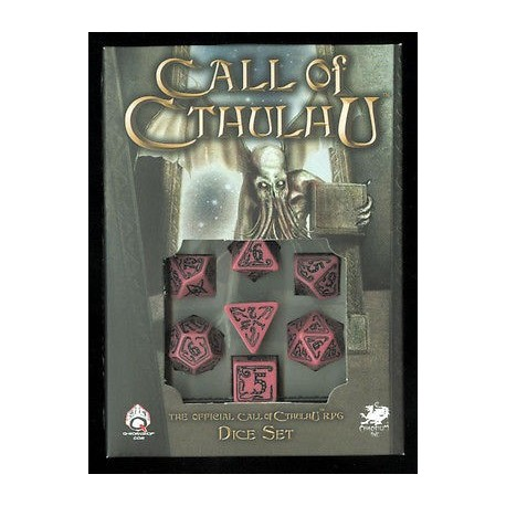 dice set Call of Cthulhu