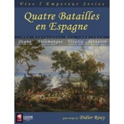 Quatre Batailles en Espagne - Peninsular War 1808-1814