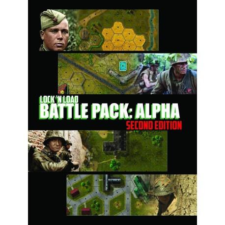 Lock 'n Load : Battle Pack Alpha 2nd edition