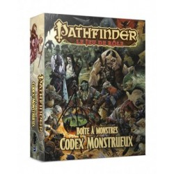 Pathfinder Boite Codex Monstrueux