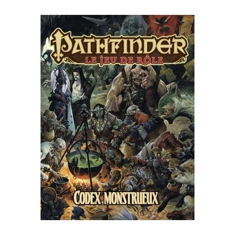 Pathfinder Codex Monstrueux