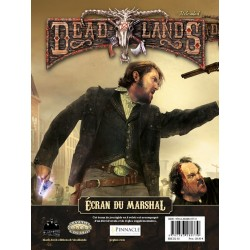 Deadlands - Ecran du Marshal