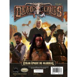 Deadlands - Ecran épique du Marshal