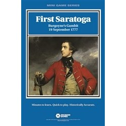 Mini Game - First Saratoga: Burgoyne's Gambit