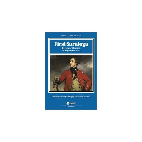 Mini Game - First Saratoga: Burgoyne's Gambit