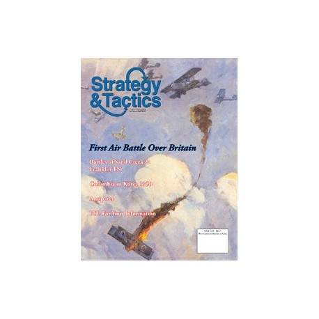 Strategy & Tactics 255 - The First Battle of Britain: The Air War Over England, 1917-18