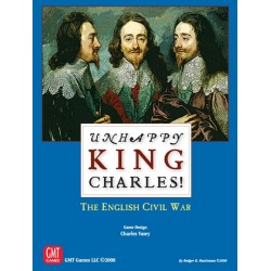 Unhappy King Charles ! Mounted map