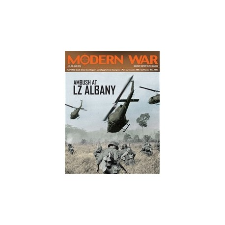 Modern War n°24 : Ambush at LZ Albany