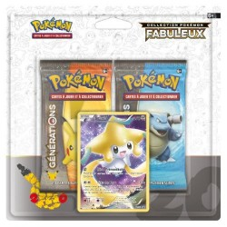 Duo Pack Collection Pokémon Fabuleux - Jirachi